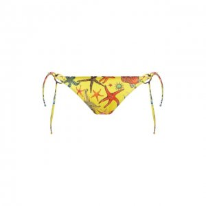 Плавки-бикини Versace. Цвет: жёлтый