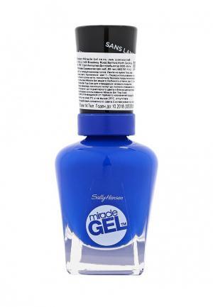 Гель-лак для ногтей Sally Hansen Miracle Gel, 360 Tidal Wave, 14 мл. Цвет: синий