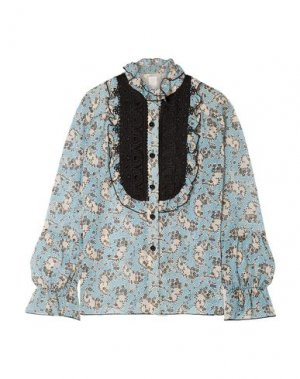 Pубашка ANNA SUI. Цвет: лазурный