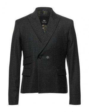 Пиджак TOM REBL. Цвет: стальной серый