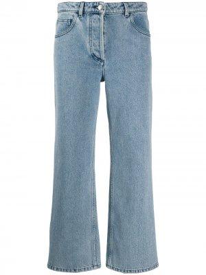 Укороченные расклешенные джинсы Nina Ricci. Цвет: синий