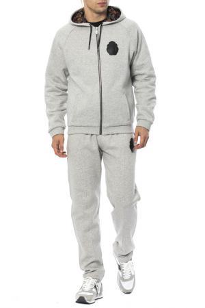 Спортивный костюм Billionaire. Цвет: серый