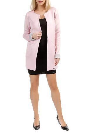 Пальто Figl. Цвет: розовый