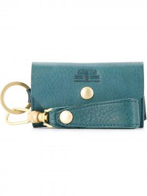 Ключница с брелком As2ov. Цвет: зеленый