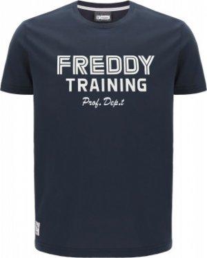 Футболка мужская , размер 46-48 Freddy. Цвет: синий