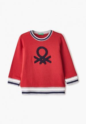 Свитшот United Colors of Benetton. Цвет: красный