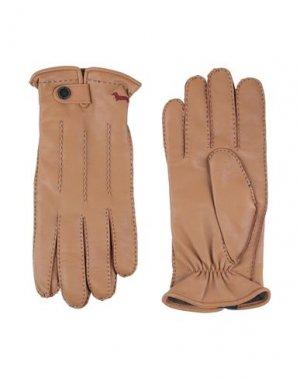 Перчатки HARMONT&BLAINE. Цвет: коричневый