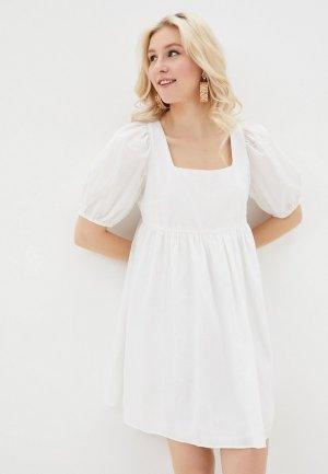 Платье Incity. Цвет: белый