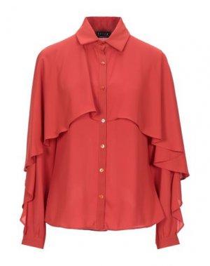 Pубашка EXTASY. Цвет: ржаво-коричневый
