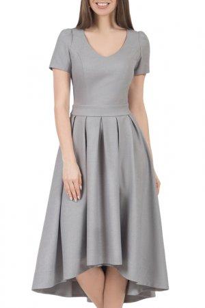 Платье Olivegrey. Цвет: серый