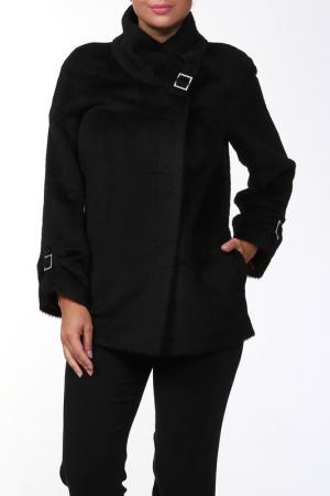 Пальто Женя Веталика. Цвет: черный
