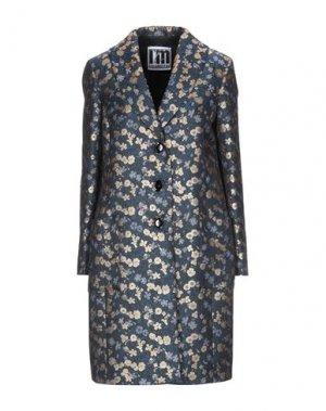Пальто I'M ISOLA MARRAS. Цвет: синий