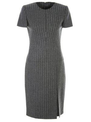 Платье-футляр шерстяное A.MCQUEEN. Цвет: белый