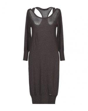 Платье до колена G.SEL. Цвет: свинцово-серый