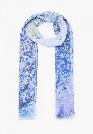 Палантин Dispacci 70х190 см. Цвет: голубой