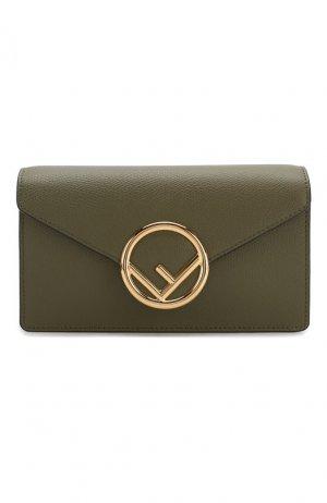 Поясная сумка Fendi. Цвет: зеленый