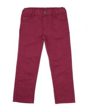 Повседневные брюки BLUE SEVEN. Цвет: пурпурный