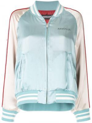 Куртка-бомбер с изображением кролика Undercover