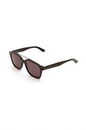 Очки солнцезащитные Karl Lagerfeld. Цвет: 001 черный