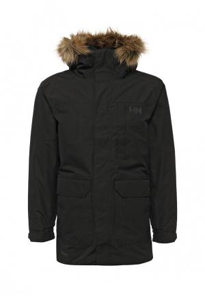 Куртка утепленная Helly Hansen DUBLINER PARKA. Цвет: черный
