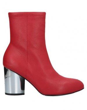 Полусапоги и высокие ботинки OPENING CEREMONY. Цвет: красный