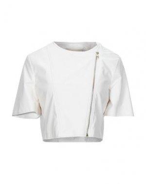 Куртка KARTIKA. Цвет: белый