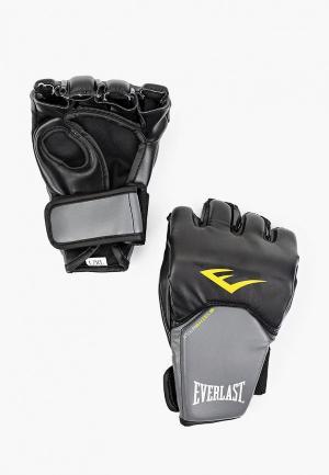 Перчатки боксерские Everlast Competition Style MMA. Цвет: черный