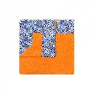 Хлопковое полотенце Kiton. Цвет: оранжевый