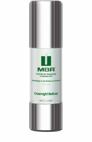 Ночной гель-пилинг для лица с фруктовыми кислотами Overnight Refiner Medical Beauty Research. Цвет: бесцветный