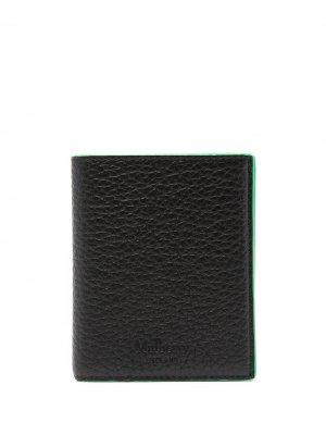 Бумажник из зернистой кожи Mulberry. Цвет: синий