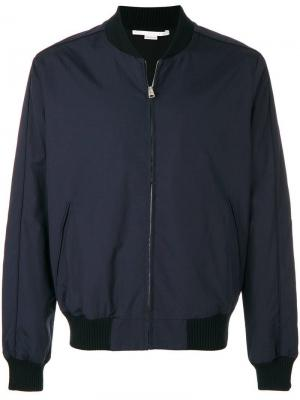 Куртка-бомбер на молнии Stella McCartney. Цвет: синий