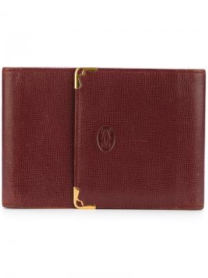 Визитница Cartier Vintage. Цвет: красный