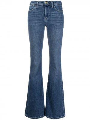 Расклешенные джинсы Le High FRAME. Цвет: синий