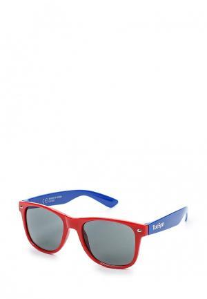 Очки солнцезащитные True Spin TR014DUSRQ17. Цвет: красный