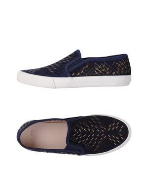 Низкие кеды и кроссовки AERIN. Цвет: темно-синий