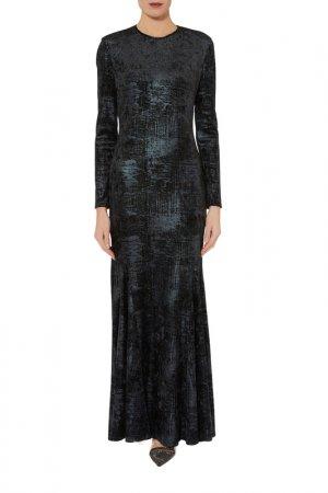 Dress Gina Bacconi. Цвет: black, blue