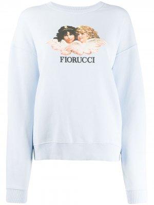 Толстовка Vintage Angels Fiorucci. Цвет: синий
