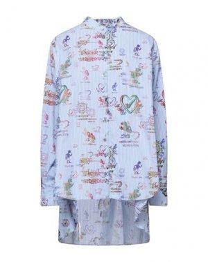 Pубашка VIVIENNE WESTWOOD ANGLOMANIA. Цвет: небесно-голубой