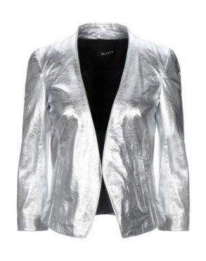Пиджак DACUTE. Цвет: серебристый