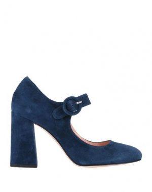Туфли ANNA F.. Цвет: темно-синий