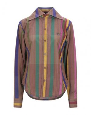 Pубашка VIVIENNE WESTWOOD. Цвет: фиолетовый