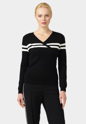 Пуловер Pompa. Цвет: черный