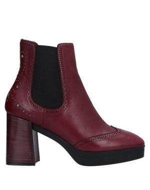 Полусапоги и высокие ботинки GUIDO SGARIGLIA. Цвет: баклажанный