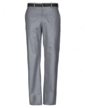 Повседневные брюки EMPORIO ARMANI. Цвет: светло-серый