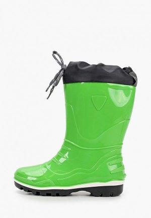 Резиновые сапоги Nordman. Цвет: зеленый
