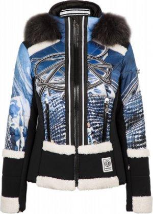 Куртка утепленная женская Lussa m.Kap+P, размер 44 Sportalm. Цвет: голубой