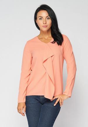 Блуза Bellart. Цвет: коралловый
