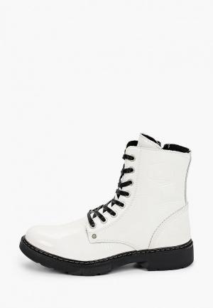 Ботинки Bullboxer. Цвет: белый