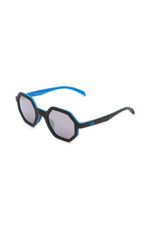 Очки солнцезащитные с линзами adidas. Цвет: 009 027 черный, синий