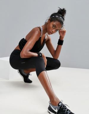 Черные капри Dri-Fit Essential-Черный Nike Running